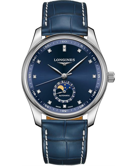 đồng hồ Longines Master L2.909.4.97.0 Moonphase 40mm