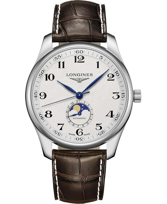 dong ho Longines Master L2.919.4.78.3 Moonphase Watch 42mm