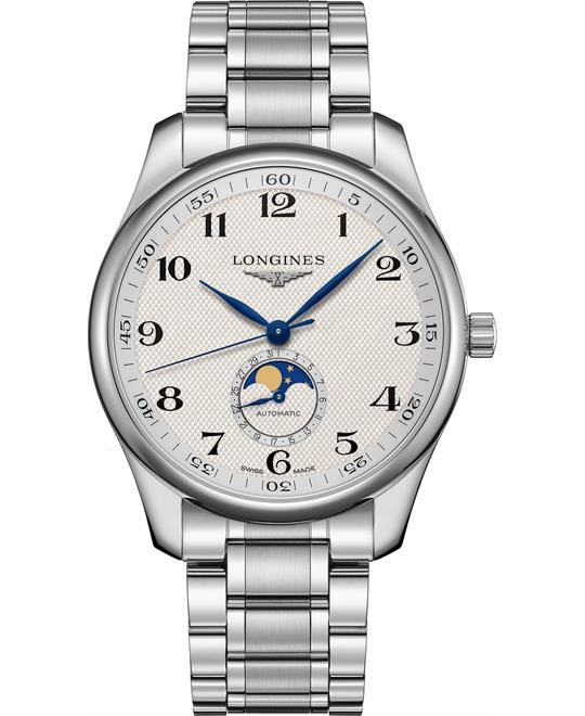 dong ho nam Longines Master L2.919.4.78.6 Moonphase 42mm