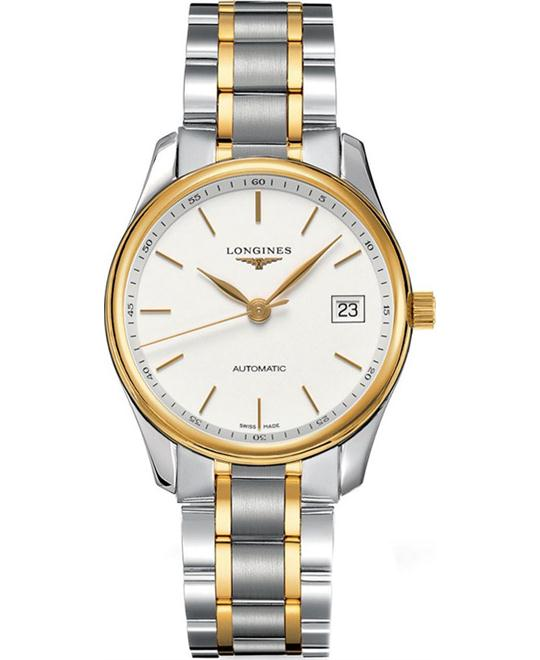 Longines Master 18K Gold L2.518.5.12.7 Watch 36mm