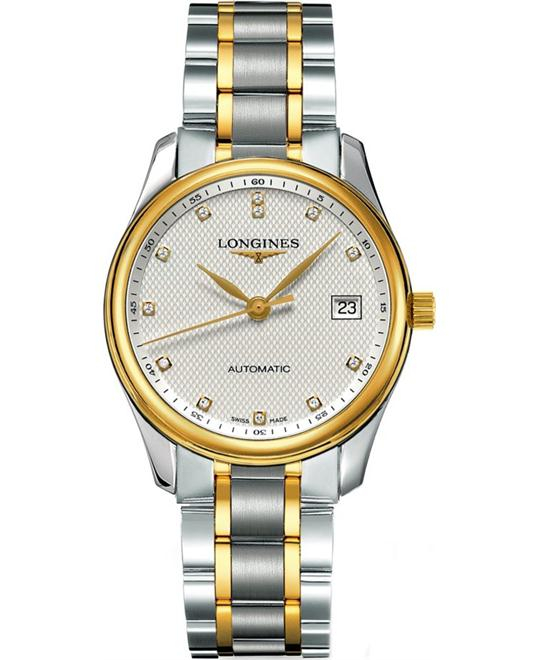 Longines Master Diamond L25185777 Watch 36mm