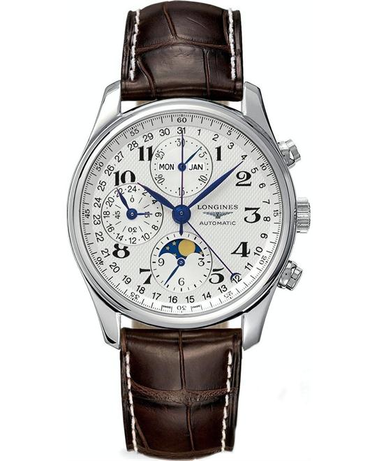 Longines L2.773.4.78.3 Master Chronograph Watch 42mm