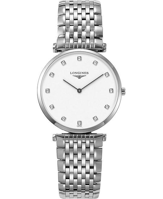 đồng hồ Longines La Grande L4.709.4.17.6 Classique Diamond 33mm
