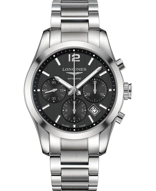 LONGINES Conquest Auto L2.786.4.56.6 Watch 41mm