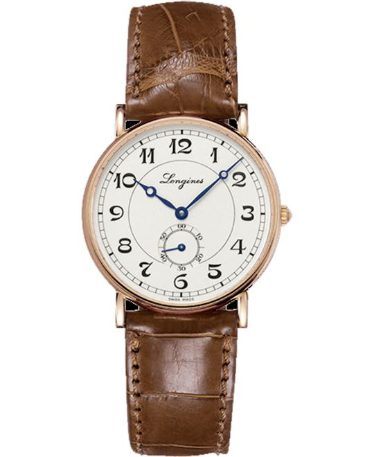 LONGINES Presence Heritage Auto L4.767.8.73.2 Watch 34mm