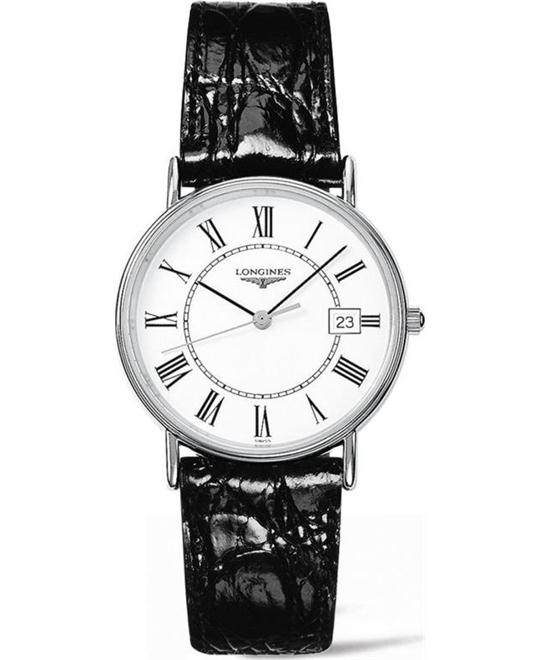 Longines Presence L4.819.4.11.2 Watch 34,5mm