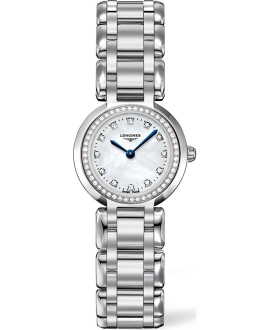 LONGINES Primaluna Diamond L8.109.0.87.6 Watch 23mm