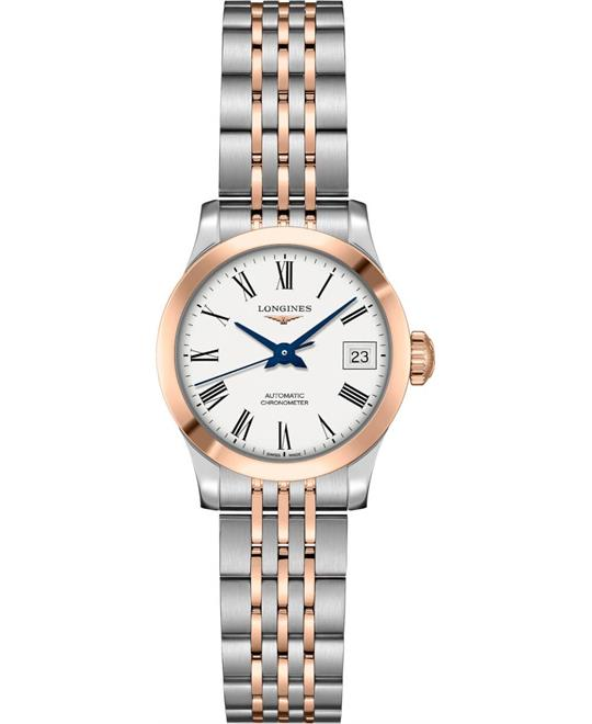 dong ho Longines Record L2.320.5.11.7 Watch 26mm