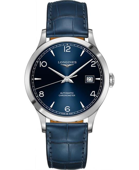 dong ho Longines Record L2.821.4.96.4 Collection Watch 40mm