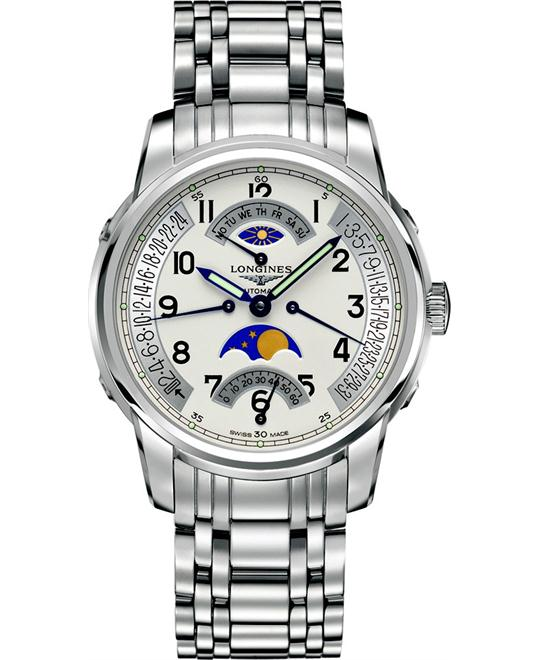 Longines Saint Imier Moonphase L2.764.4.73.6 Watch 44mm