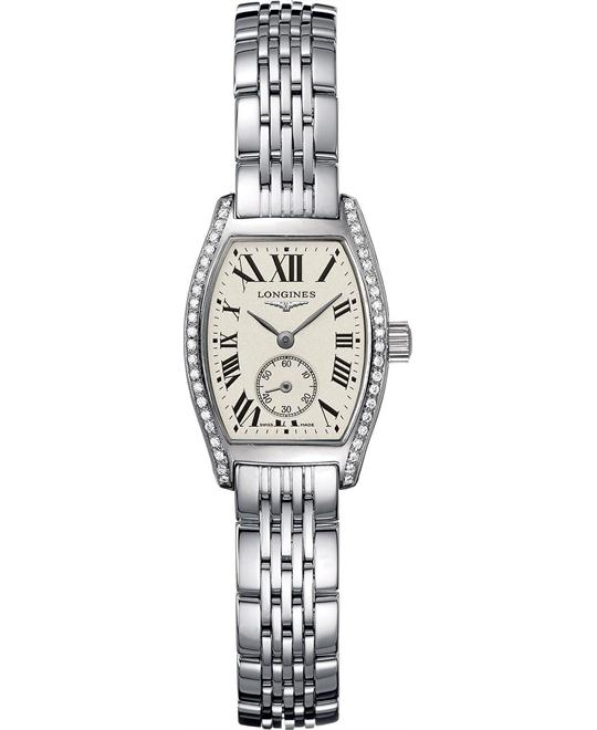 Longines Evidenza Diamond L2.175.0.71.6 Watch 22x20mm
