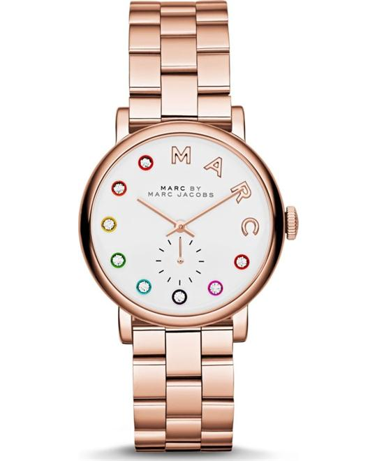 MARC JACOBS Baker Rose Gold Ladies Watch 36mm