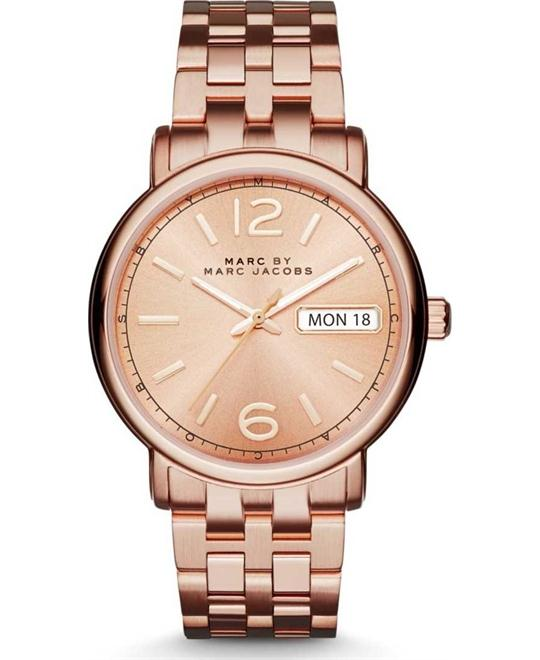 Marc By Marc Jacobs Fergus Rose Gold-tone Watch 36mm