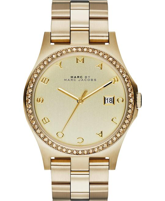Marc by Marc Jacobs  Henry All Gold Tone Watch 40mm