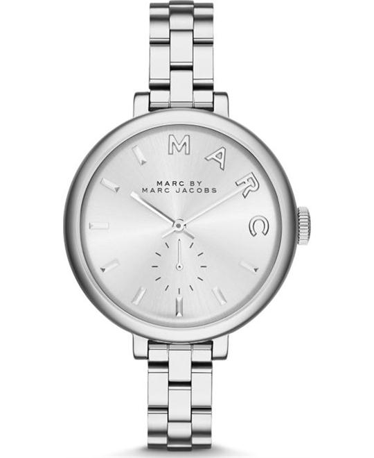 MARC BY MARC JACOBS Sally Silver Dial Ladies Watch 36mm