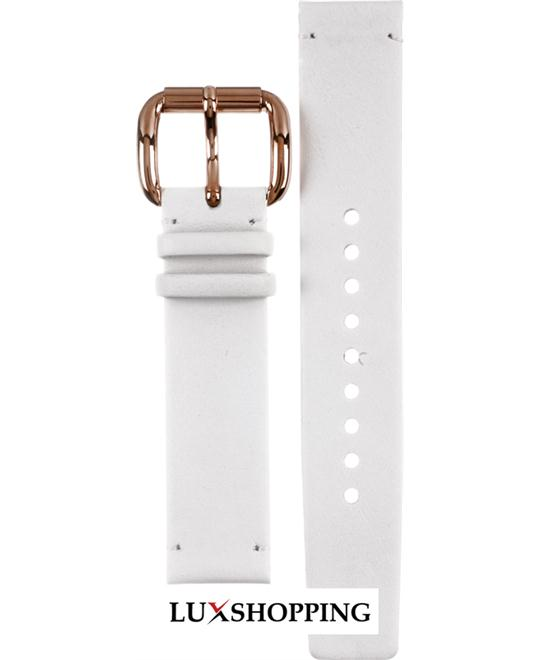 Marc By Marc Jacobs Straps Blade White leather strap 18mm