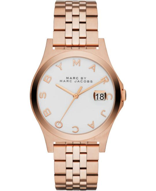 Marc by Marc Jacobs 'The Slim' Rose Gold-tone Ladies Watch 36mm