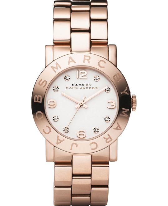 Marc Jacobs Amy Rose Gold Watch, 36mm