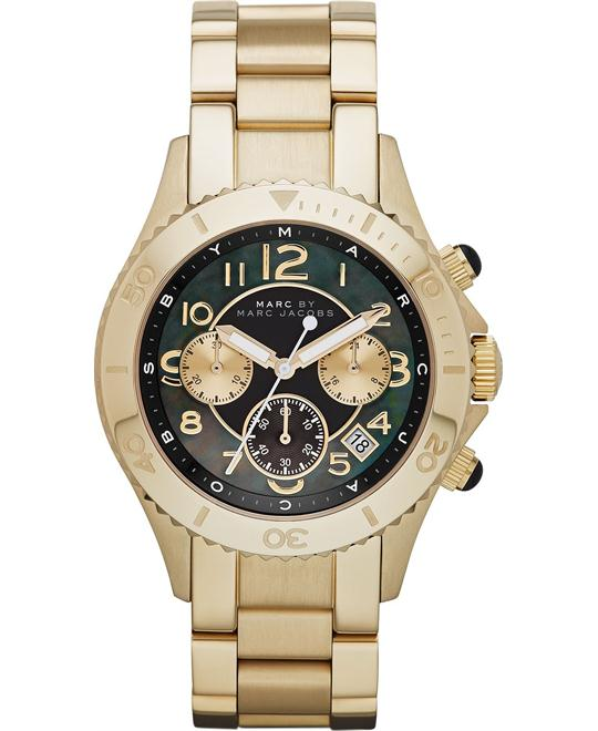 Marc by Marc Jacobs Rock black dial gold Watch 40mm