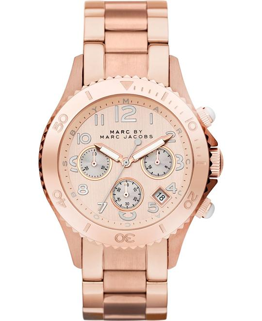 Marc Jacobs  ROCK Chronograph Rose Gold Watch 40mm