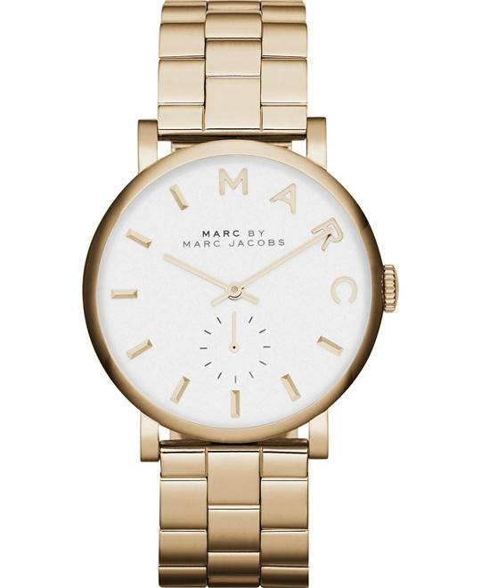 Marc by Marc Jacobs Baker Gold Tone Watch 37mm