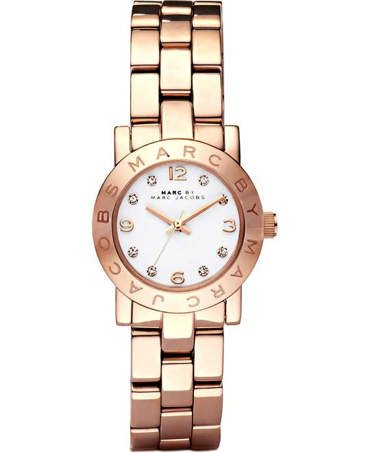 Marc Jacobs Amy Mini Rose Gold Watch  26mm