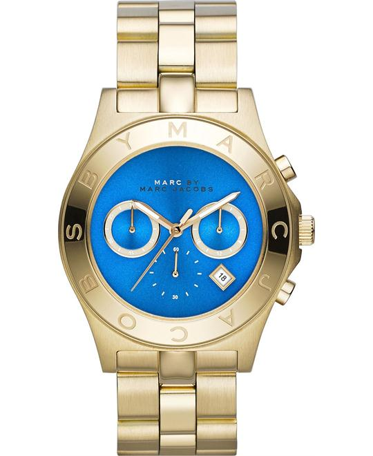 Marc Jacobs Blade Gold Chronograp Watch 40mm