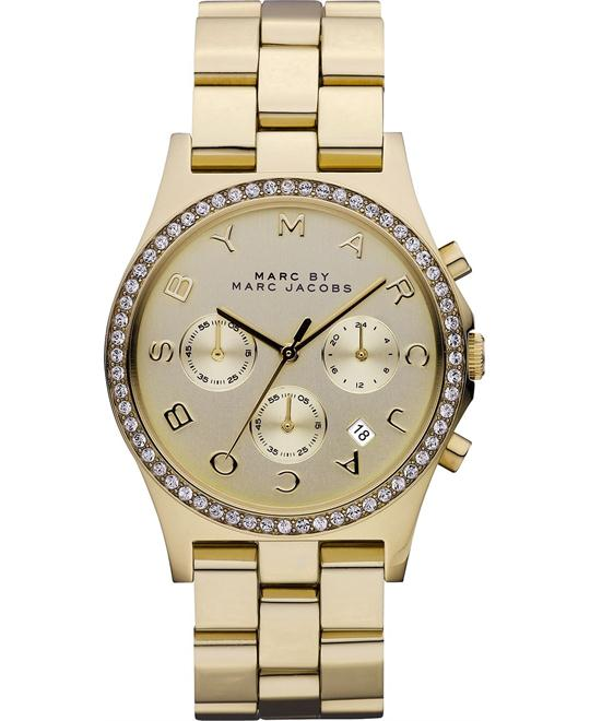 Marc by Marc Jacobs Henry Gold-Tone Watch 40mm
