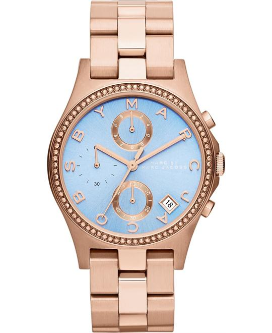 Marc Jacobs Henry Rose Gold Watch 37mm