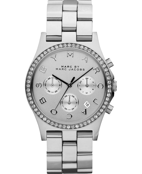 Marc by Marc Jacobs  Henry Chronograph Silver Watch 40mm