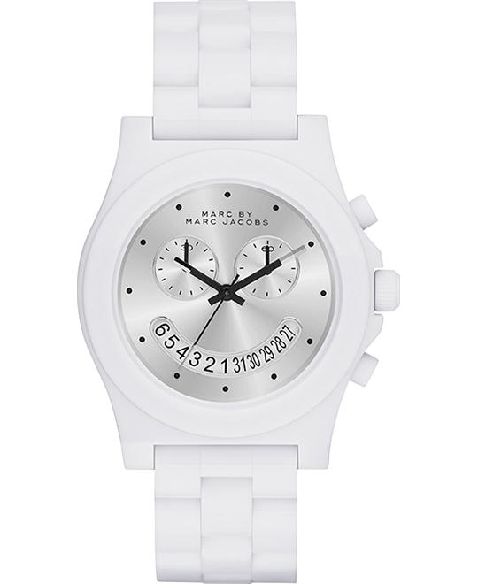 Marc by Marc Jacobs Raver Chrono White Watch 41mm