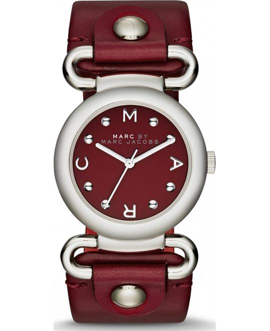 Marc Jacobs Women's Molly Cabernet Watch 30mm