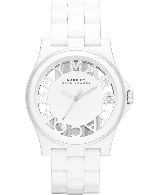 Marc by Marc Jacobs Henry White Nylon Watch 41mm