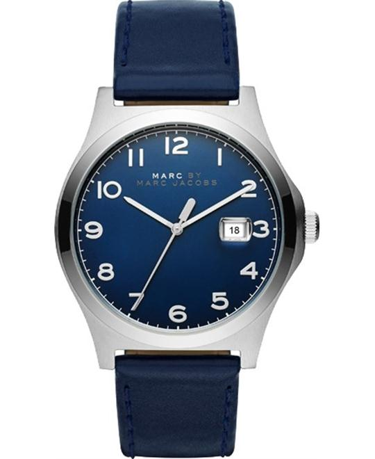 Marc Jacobs Jimmy Blue Leather Watch 43mm