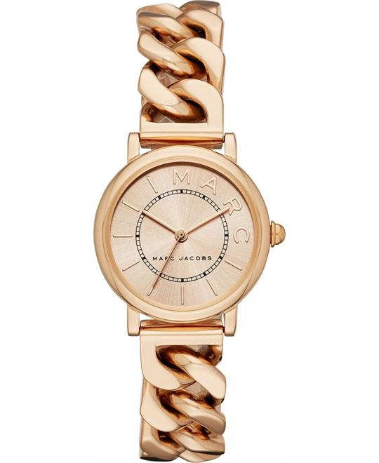 Marc Jacobs Classic Rose Gold-Tone Watch 28mm