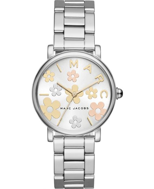 Marc Jacobs Classic Stainless-Steel Watch 36mm