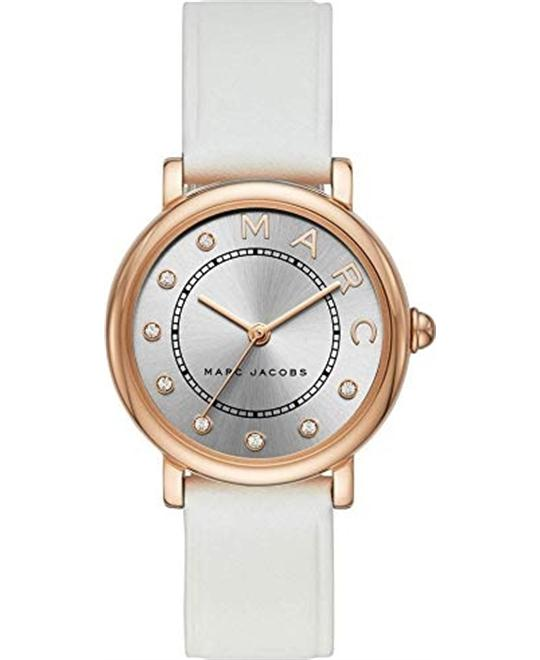 Marc Jacobs Classic Three-Hand White Watch 28mm
