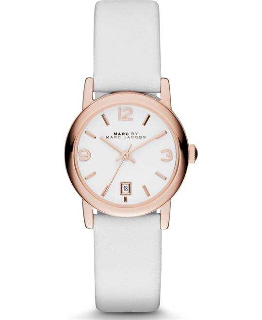 MARC JACOBS Farrow White Dial Ladies Watch 26mm