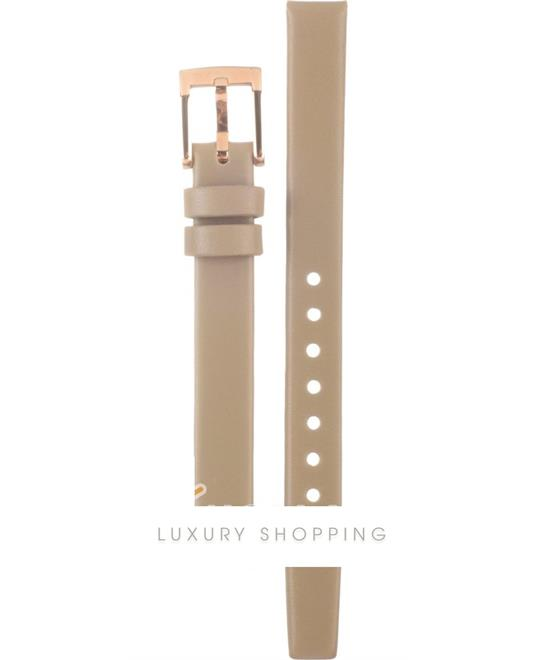 Marc Jacobs Henry Dinky Beige Leather Strap10mm