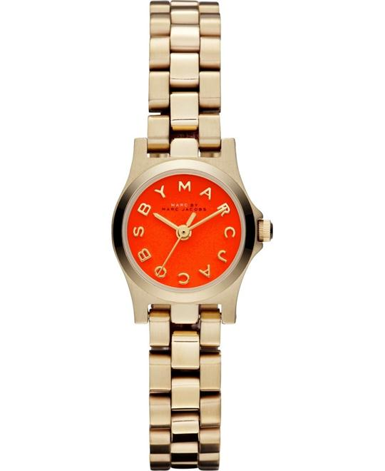 Marc Jacobs Henry Dinky Gold Tone Watch 21mm