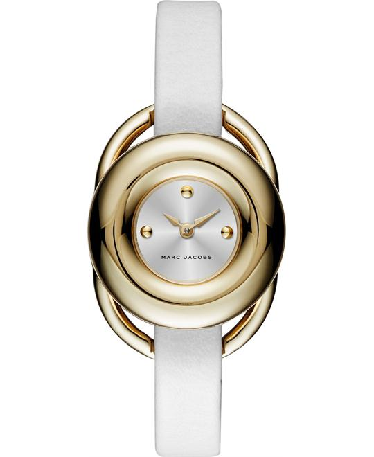 MARC JACOBS Jerrie Silver Dial Ladies Watch 28mm
