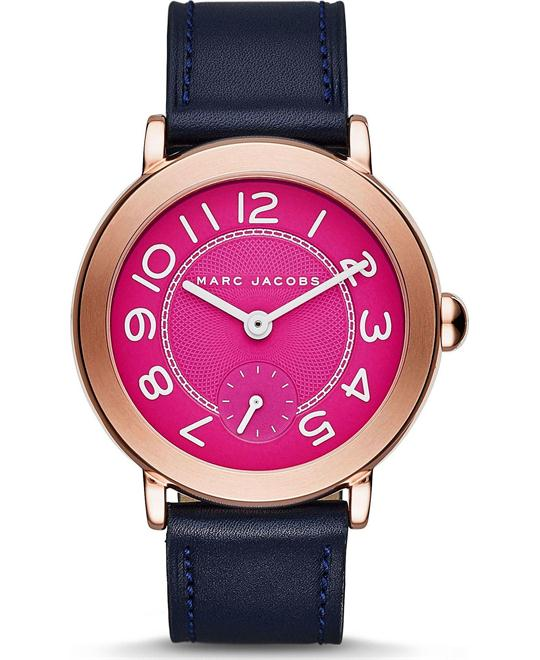 Marc Jacobs Riley Fuchsia Watch 36mm