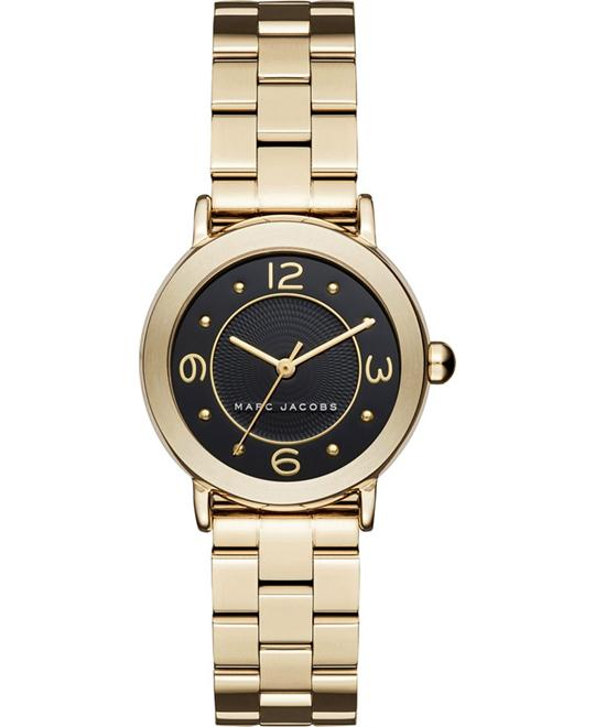 Marc Jacobs Riley Gold-Tone Women's Watch 28mm