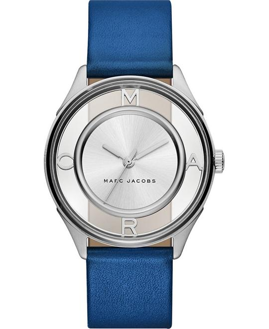 MARC JACOBS Tether Ladies Blue Watch 36mm