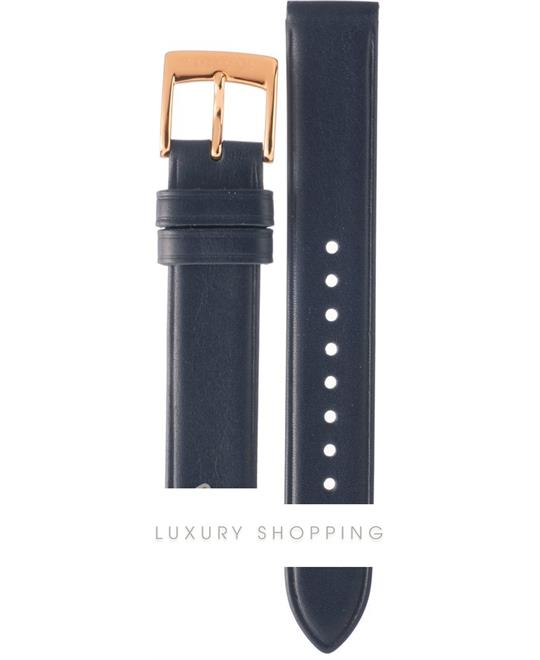 Marc Jacobs Vic Medium Blue Leather Strap 16mm