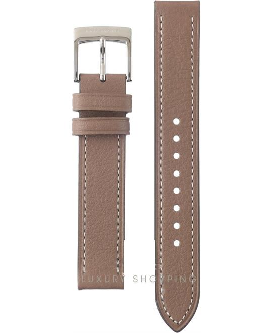 Marc Jacobs Vic Medium Brown Leather Strap 16mm