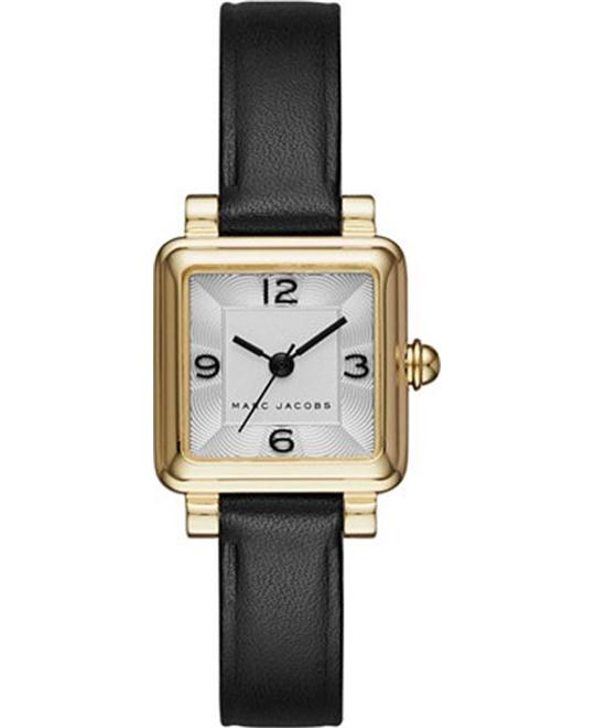 Marc Jacobs Vic Women's Black Square Watch 20x20mm