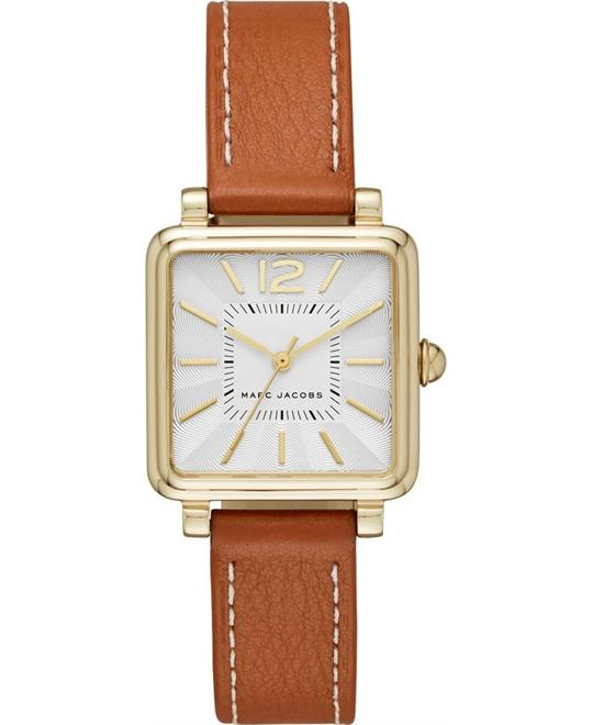 Marc Jacobs Vic Women's Leather Band Watch 30MM