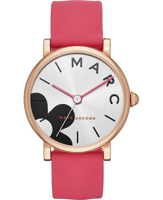 Marc Jacobs Watermelon Silicone Watch 36mm