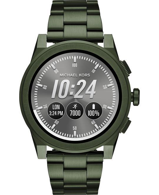 đồng hồ nam Michael Kors Access Grayson Olive Smartwatch 47mm
